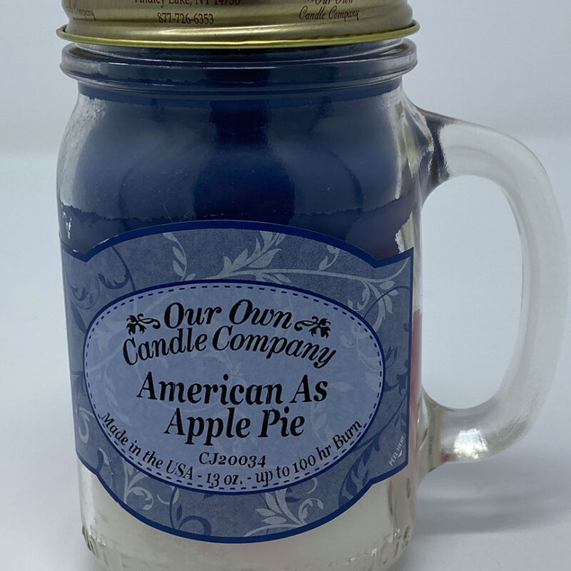 American As Apple Pie Candle